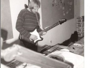 1992, Doc Joschi im Intra-Tonstudio