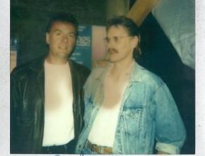 1993, v.l.: Ralph McTell, Hanzie Scharrer