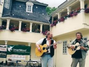 2003: v.l.: Alexander Wolfrum, Eric Hansen (USA)