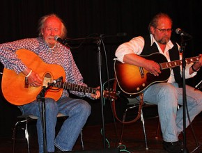 Colin Wilkie (links) und Alexander Wolfrum in Villingen 2009